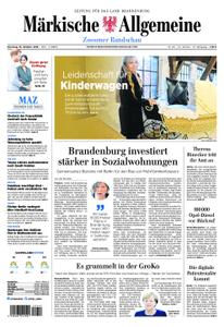 Märkische Allgemeine Zossener Rundschau - 16. Oktober 2018