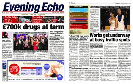 Evening Echo – February 25, 2019