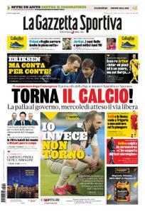 La Gazzetta dello Sport Roma – 19 aprile 2020