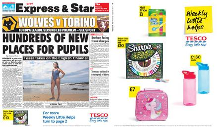 Express and Star City Edition – August 29, 2019