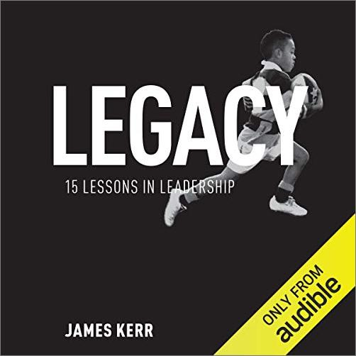 Legacy: 15 Lessons in Leadership [Audiobook]