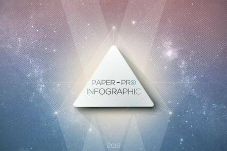 CreativeMarket - Paper-Pro Infographic