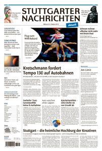 Stuttgarter Nachrichten Fernausgabe - 09. Oktober 2019