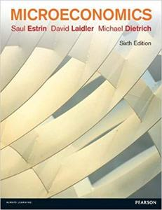 Microeconomics by Saul Estrin