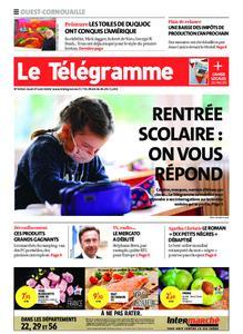 Le Télégramme Ouest Cornouaille – 27 août 2020