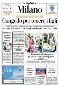 la Repubblica Milano - 5 Marzo 2020