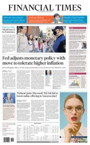 Financial Times USA - August 28, 2020