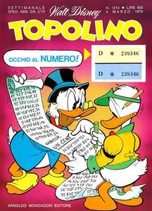 Topolino 1214 - Topolino e la vernice generatrice (03/1979)
