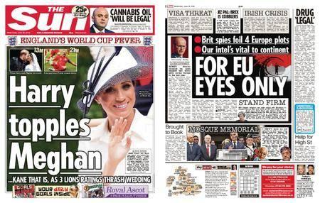 The Sun UK – 20 June 2018