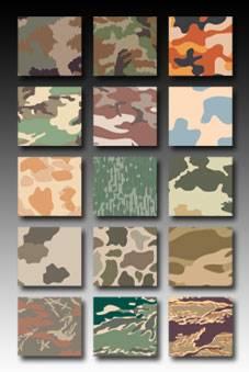 100 Camuoflage Patterns