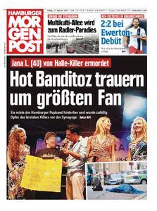 Hamburger Morgenpost – 11. Oktober 2019