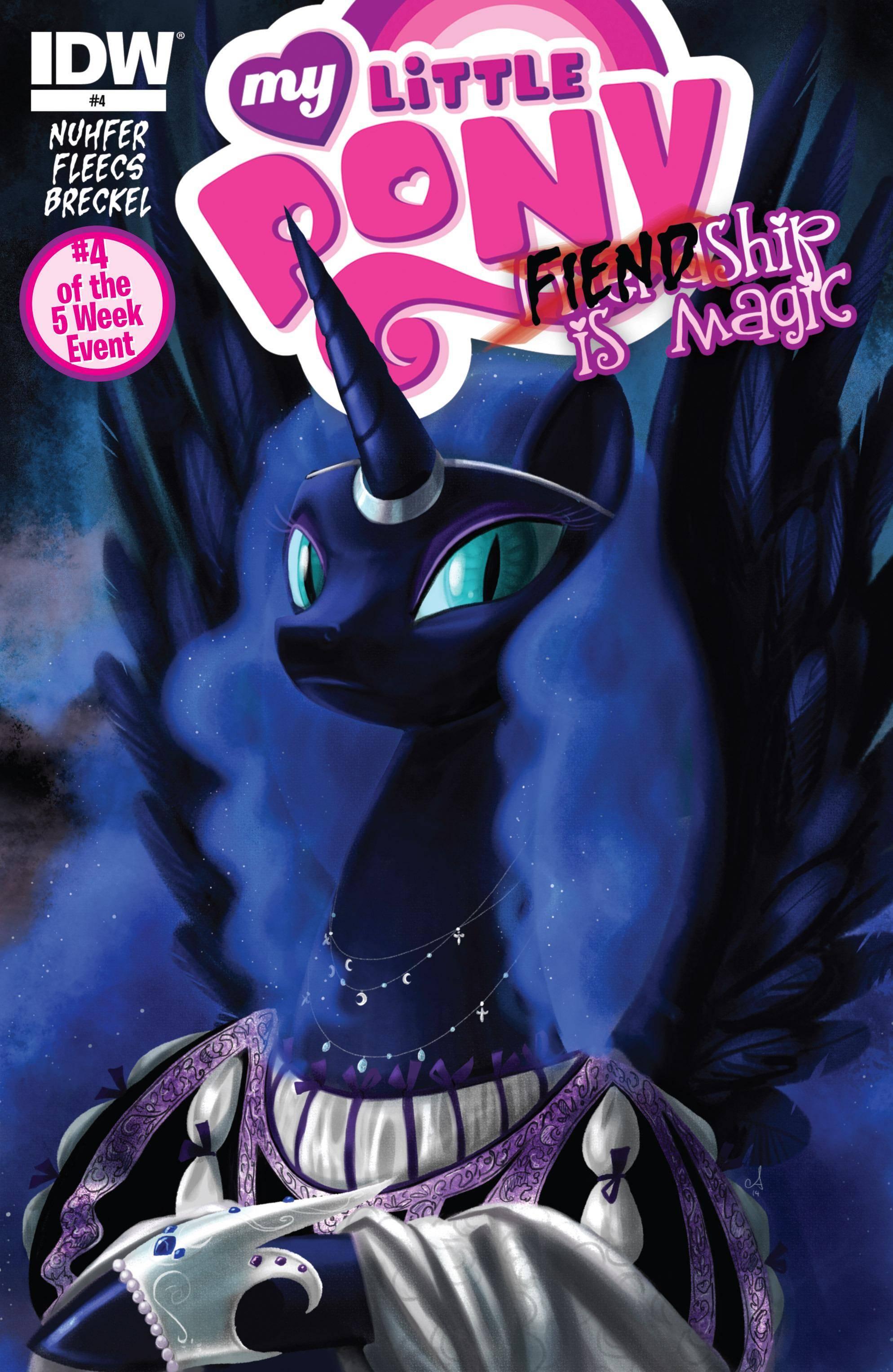 My Little Pony- FIENDship is Magic 004 - Nightmare Moon 2015 digital