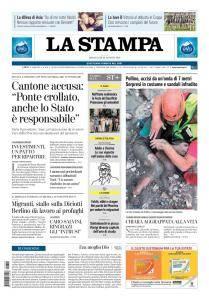 La Stampa Torino Provincia e Canavese - 22 Agosto 2018
