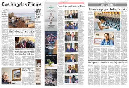 Los Angeles Times – December 03, 2018