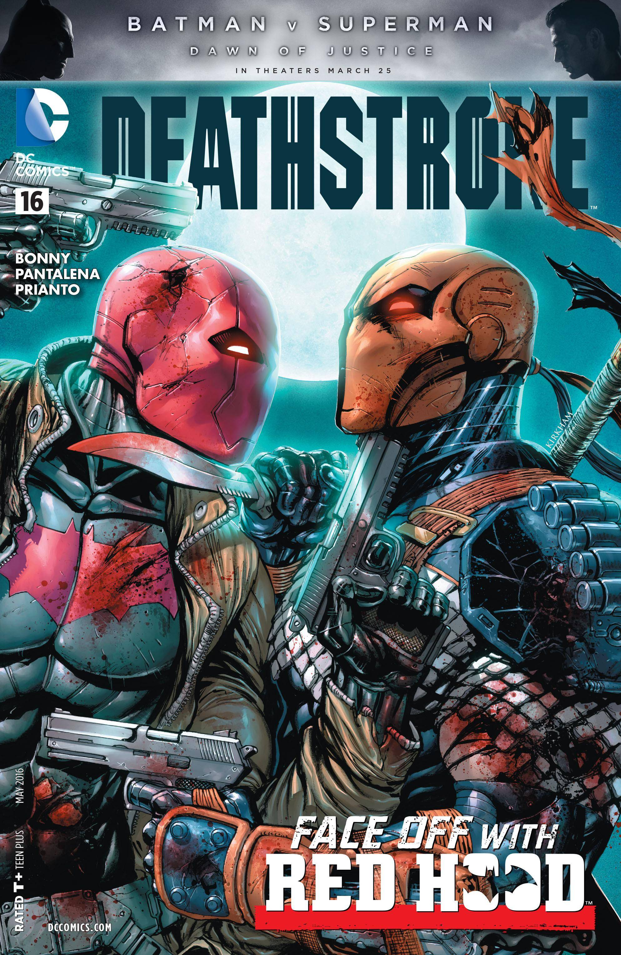 Deathstroke 016 2016 2 covers digital
