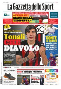 La Gazzetta dello Sport Bergamo – 31 agosto 2020