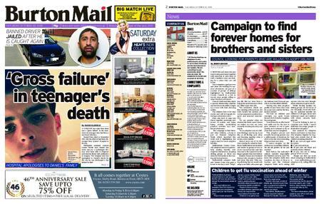 Burton Mail – October 20, 2018