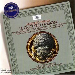 The English Concert, Trevor Pinnock - Vivaldi: Le Quattro Stagioni, Concertos RV 548 & 516 (2003) (Repost)