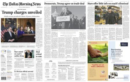 The Dallas Morning News – December 11, 2019