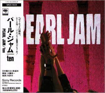 Pearl Jam - Ten (1991) Japanese Press