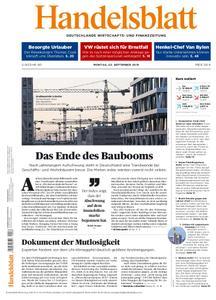 Handelsblatt - 23. September 2019
