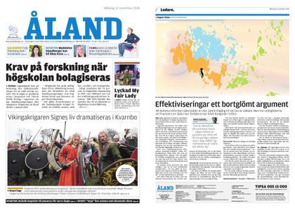 Ålandstidningen – 12 november 2018