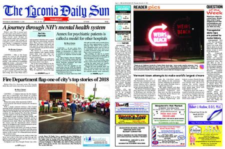 The Laconia Daily Sun – December 27, 2018