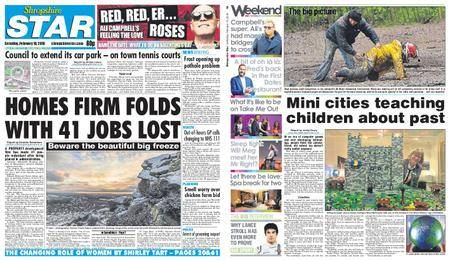 Shropshire Star Shrewsbury Edition – February 10, 2018