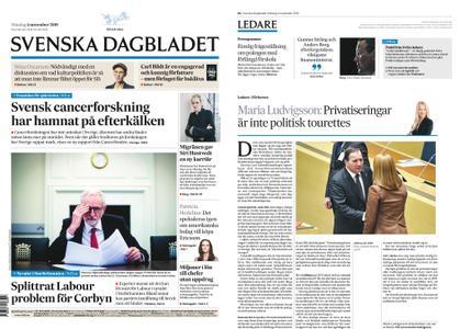 Svenska Dagbladet – 04 november 2019