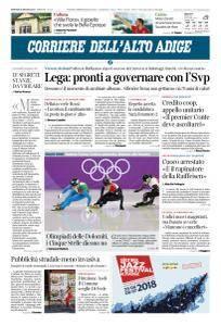 Corriere dell'Alto Adige - 26 Giugno 2018