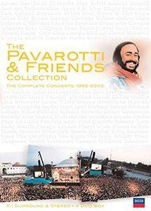 The Pavarotti & Friends Collection: The Complete Concerts, 1992-2000 (2002) [4 x DVD-9]