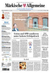 Märkische Allgemeine Luckenwalder Rundschau - 08. Januar 2018