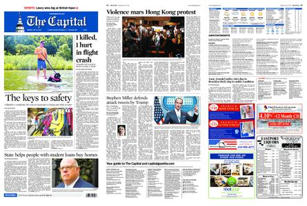 The Capital – July 22, 2019