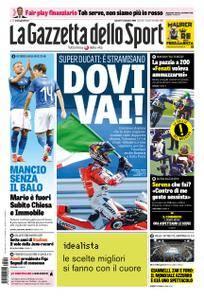 La Gazzetta dello Sport – 10 settembre 2018