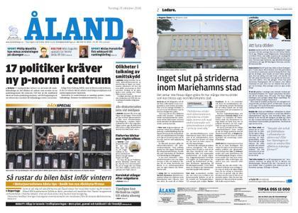 Ålandstidningen – 25 oktober 2018