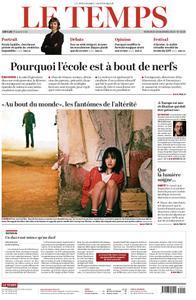 Le Temps - 06 novembre 2019