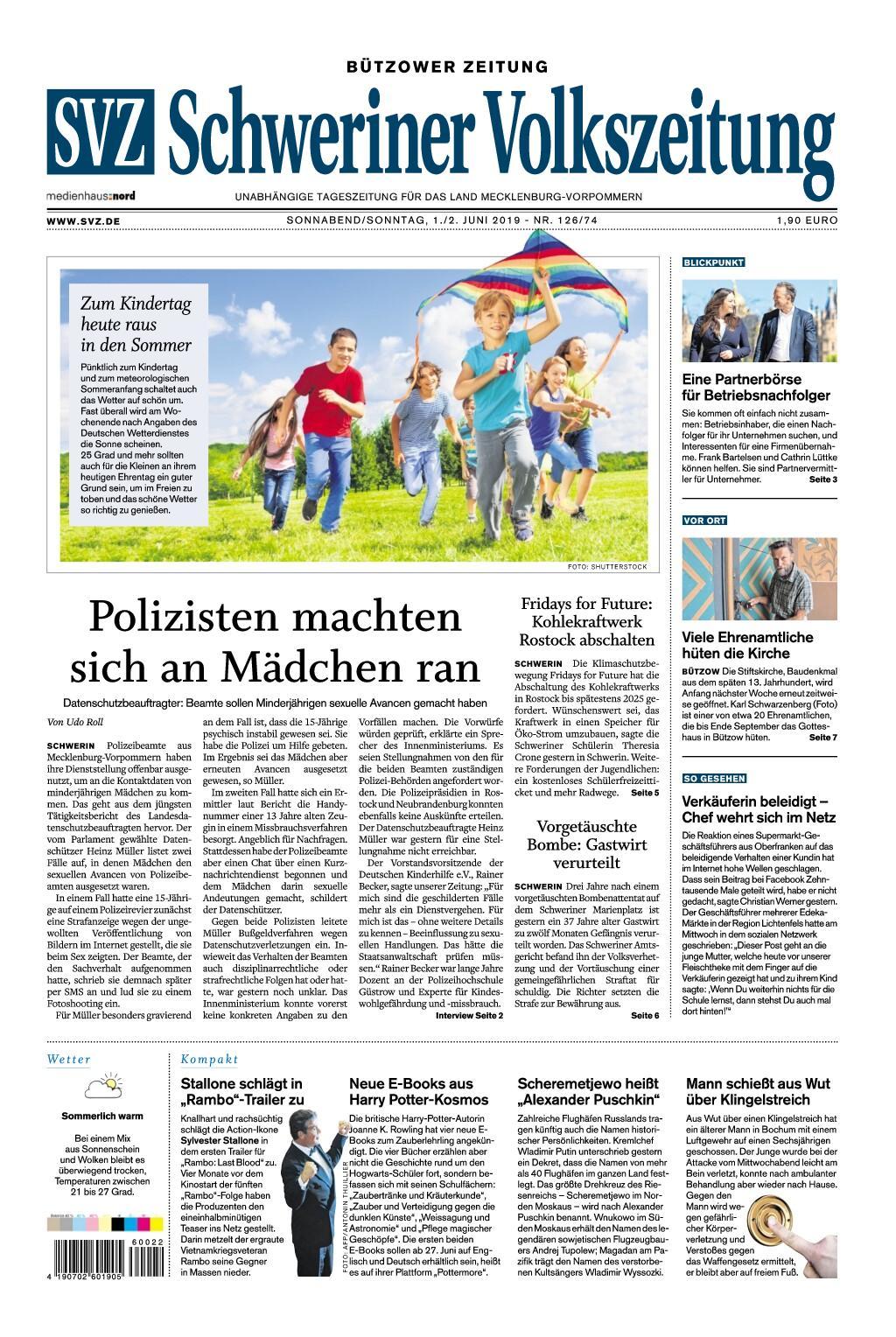 Volkszeitung Schwerin