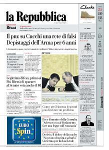 la Repubblica - 25 Ottobre 2018