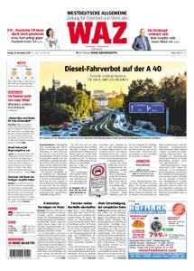 WAZ Westdeutsche Allgemeine Zeitung Oberhausen-Sterkrade - 16. November 2018