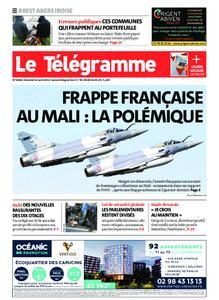 Le Télégramme Brest Abers Iroise – 16 avril 2021
