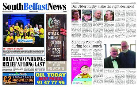 South Belfast News – April 19, 2018