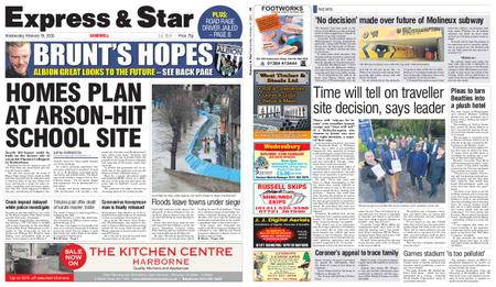 Express and Star Sandwell Edition – February 19, 2020