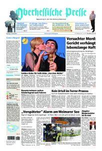 Oberhessische Presse Marburg/Ostkreis - 09. Januar 2018