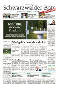 Schwarzwälder Bote St. Georgen, Triberg, Furtwangen - 26. Oktober 2018