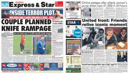 Express and Star Sandwell Edition – October 27, 2017