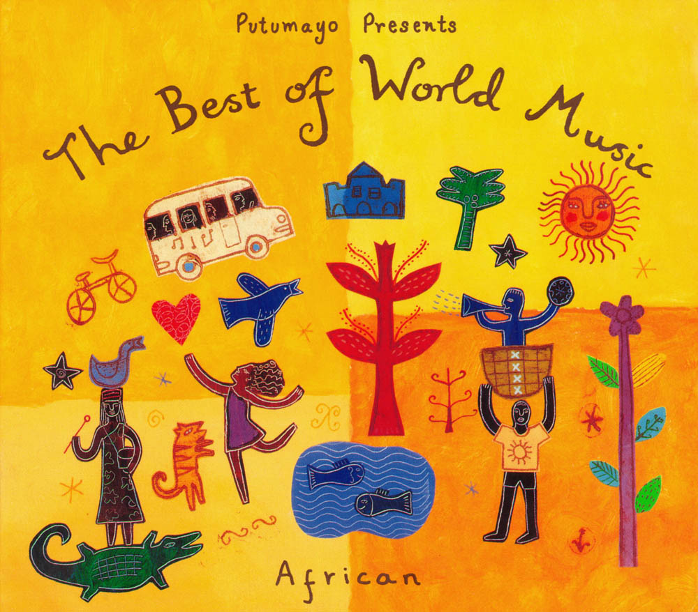 V.A. - Putumayo Presents Music From Africa (6CD, 1993-2012) [Repost & new]