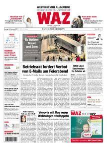 WAZ Westdeutsche Allgemeine Zeitung Oberhausen-Sterkrade - 19. Dezember 2017