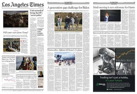 Los Angeles Times – September 23, 2021