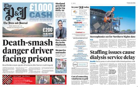 The Press and Journal Moray – January 28, 2020