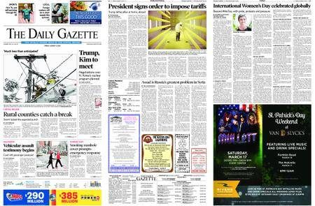 The Daily Gazette – March 09, 2018